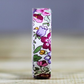 Fabric tape de tela con flores