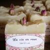 Jabón personalizado artesanal rosas 100grs.