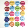 Mr Wonderful Chapas mate superchulas para bodas en color