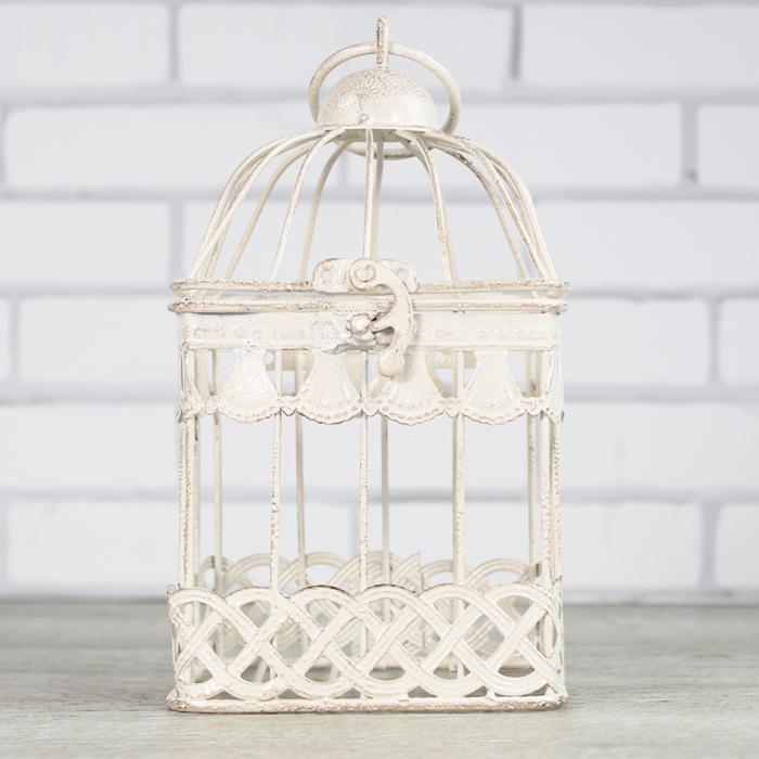 jaula decorativa cuadrada