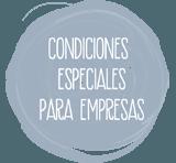 Condiciones especiales para empresas